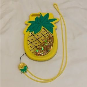 Other - Pineapple silicon case for iPhone 7 Plus